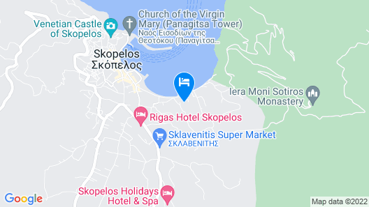 Aeolos Hotel Map
