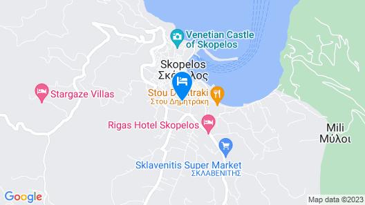Hotel Dionyssos Map
