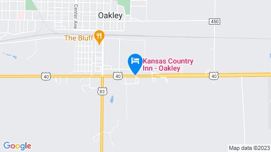 Kansas Country Inn Map