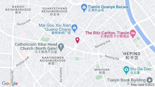 Four Seasons Hotel Tianjin Map