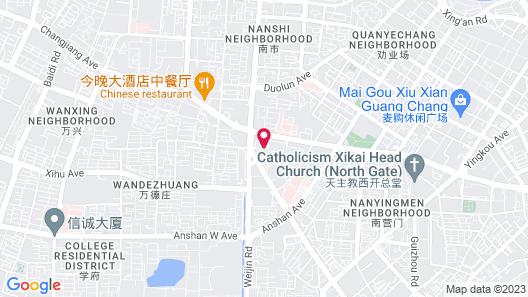Holiday Inn Express Tianjin Heping, an IHG Hotel Map