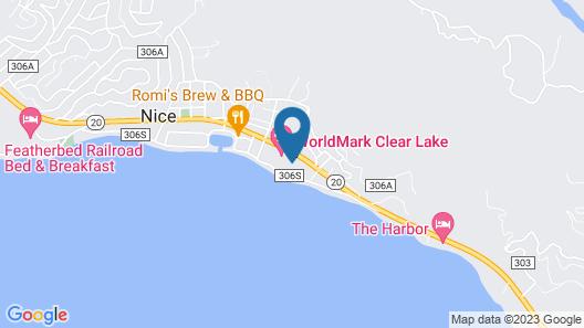 WorldMark Clear Lake Map