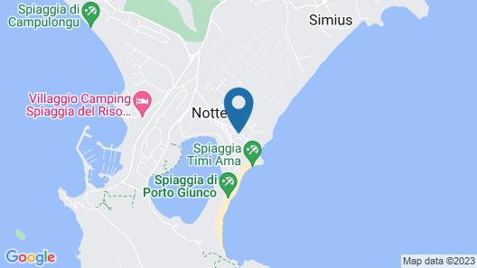 Porto Giunco Map
