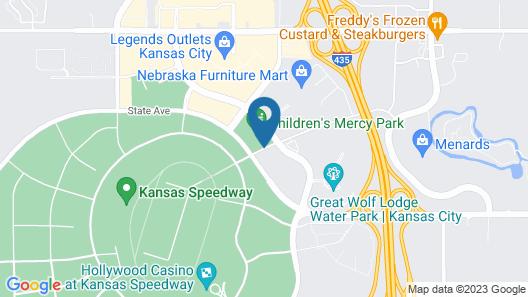 Best Western Premier KC Speedway Inn & Suites Map