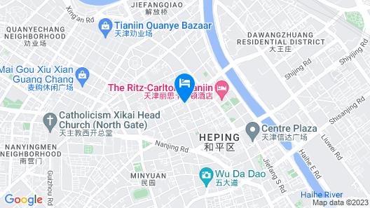 Lishunde Hotel - Tianjin Map