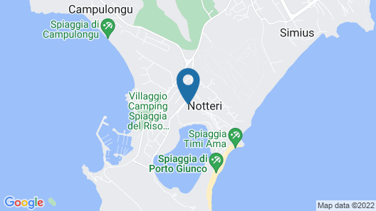 Pullman Timi Ama Sardegna Map
