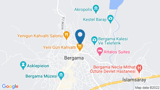 Hera Boutique Hotel - Boutique Class Map