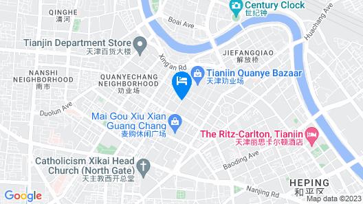 Tianjin Kaisite Apartment Map