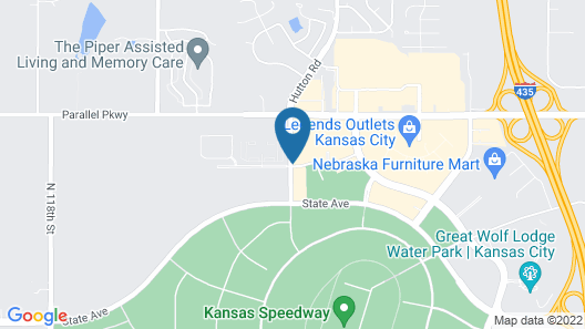 Country Inn & Suites by Radisson, Kansas City at Village West, KS Map