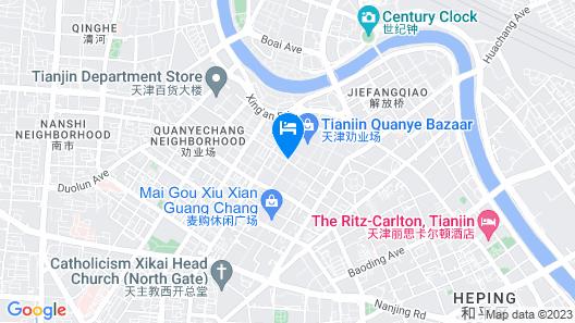 Tianjin Jialan Boutique Hotel Map