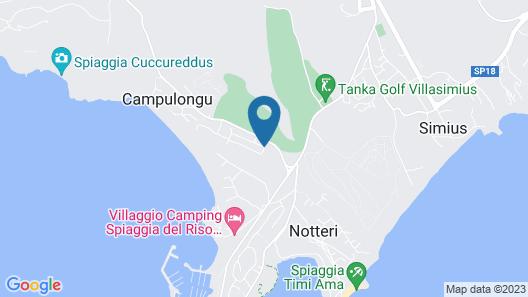 Residence S'Incantu Map