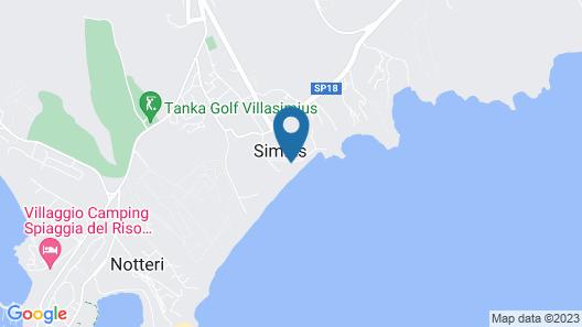 Hotel Simius Playa Map