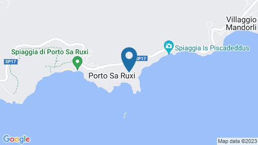 Falkensteiner Resort Capo Boi Map