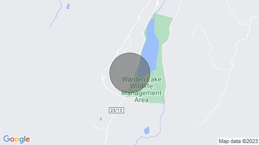Cozy Lakeside Homestead Map