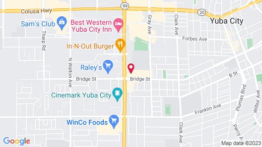 Days Inn by Wyndham Yuba City Map