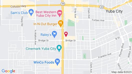 Econo Lodge Inn & Suites Yuba City - Marysville Map