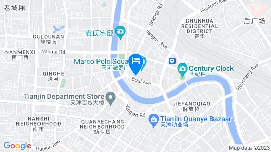 Jinjiang Inn Tianjin Train Station Map