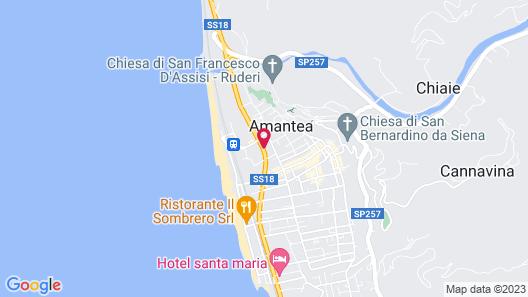 Mediterraneo Palace Hotel Map