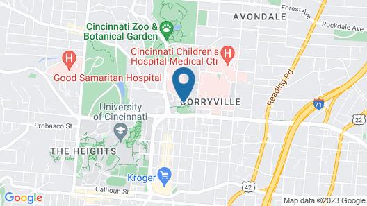 Graduate Cincinnati Map