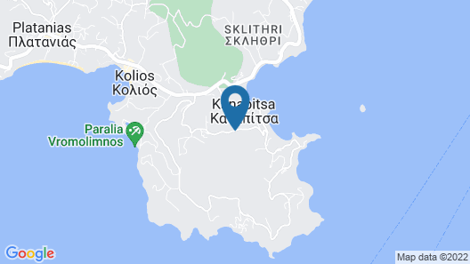 Skiathos Blu Map