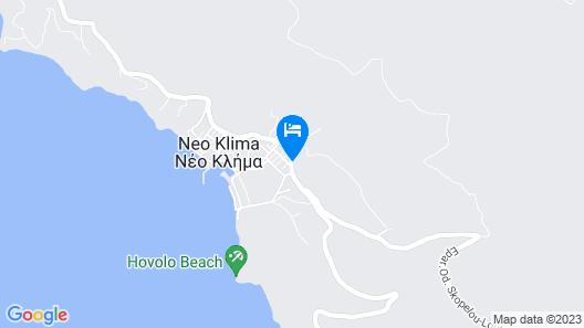 Elios Holidays Hotel Map