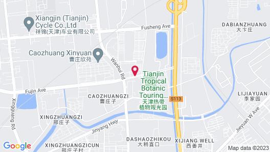 Holiday Inn Tianjin Xiqing, an IHG Hotel Map