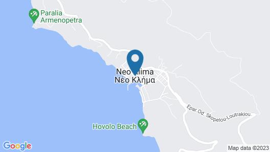 Evagelia Villas and Apartments Map