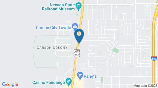 Super 8 by Wyndham Carson City Map