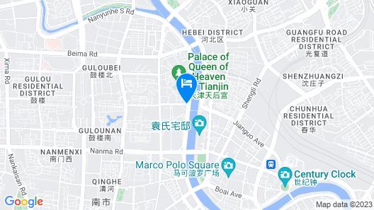 IBIS Tianjin Ancient Cultural Street Hotel Map