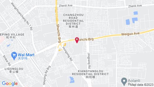 Hyatt Regency Tianjin East Map