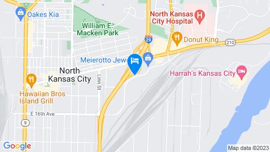 Aloft North Kansas City Map