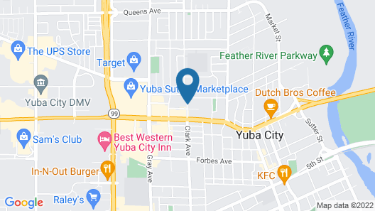 Bonanza Inn & Suites Map