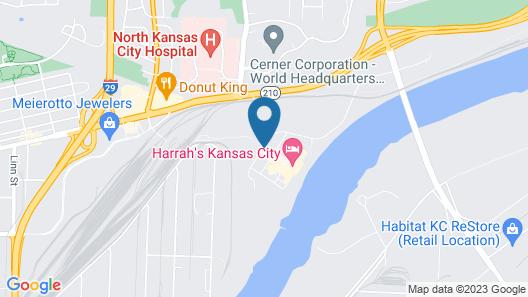 Harrah's North Kansas City Resort & Casino Map