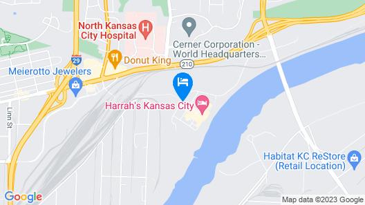 Harrah's Kansas City Hotel and Casino Map