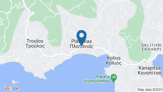 Skiathos Princess Resort Map