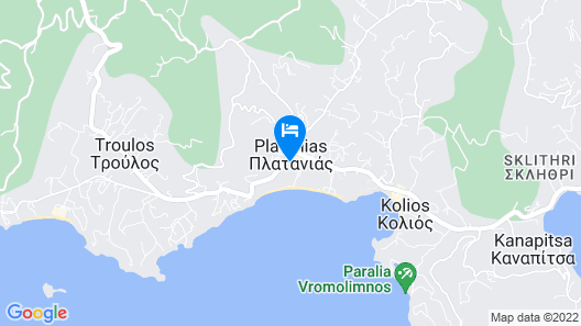 Skiathos Princess Resort Map