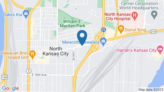 American Inn North Kansas City Map