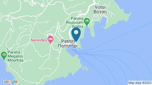 Pension Nina Map