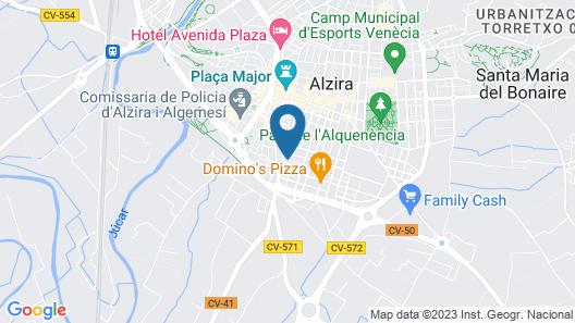 Casa Pueblo Alzira Map