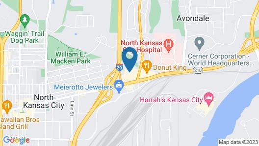 La Quinta Inn by Wyndham Kansas City North Map