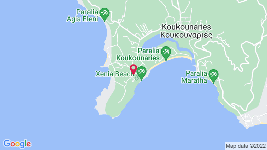 ELIVI Skiathos Map