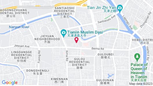 Courtyard by Marriott Tianjin Hongqiao Map