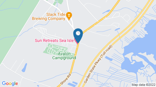 Driftwood RV Resort and Campground Map