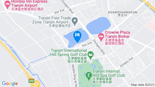 Crowne Plaza Tianjin Binhai, an IHG Hotel Map