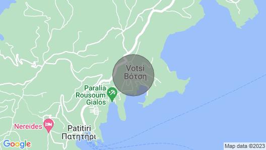 Villa Aloniro - Studio 3 Map