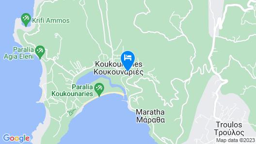 Mandraki Village Boutique Hotel Map