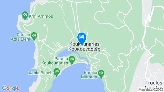 Caravos Hotel Map