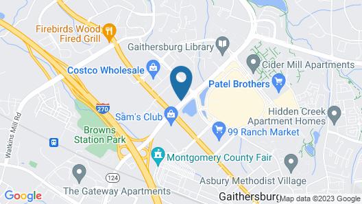 Holiday Inn Gaithersburg, an IHG Hotel Map