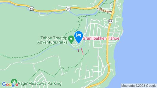 Granlibakken 3br W/ Heated Pool & Hot Tub 3 Bedroom Condo Map