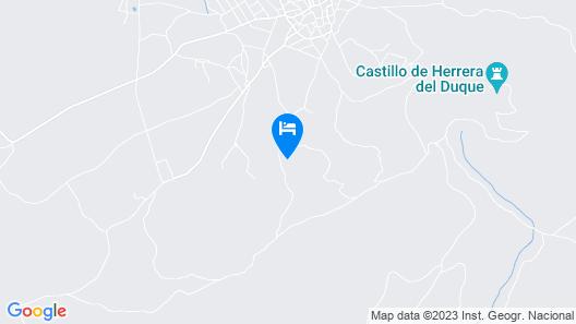 Casa Rural La Huerta De Los Nogales Map